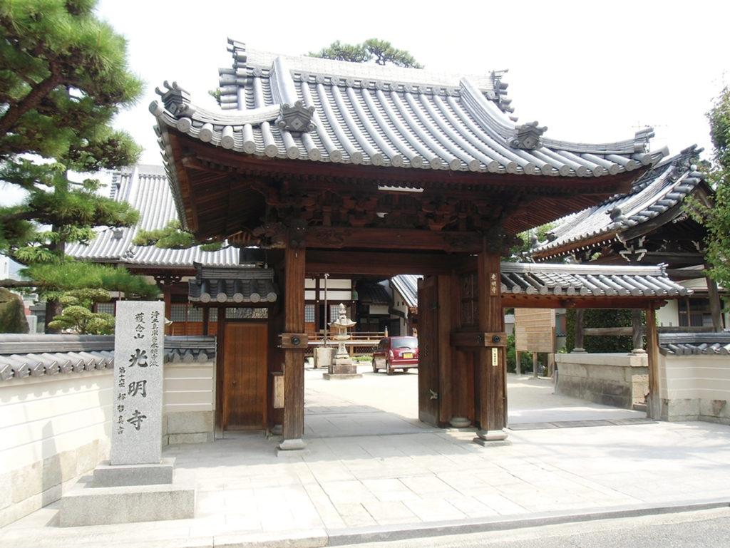 廿日市には由緒あるお寺が多い