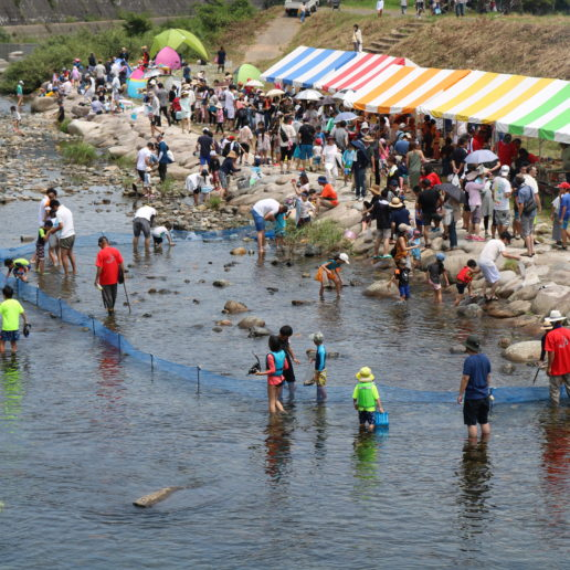 Have fun at local summer festival in Hiroshima's countryside