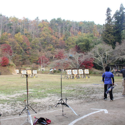 The best archery spot in Hiroshima, where many olympians have got trained.