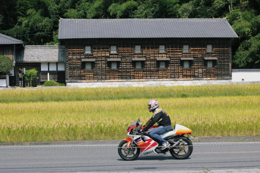 広島の歴史を感じさせる日本建築は写真に撮りたい観光スポット。