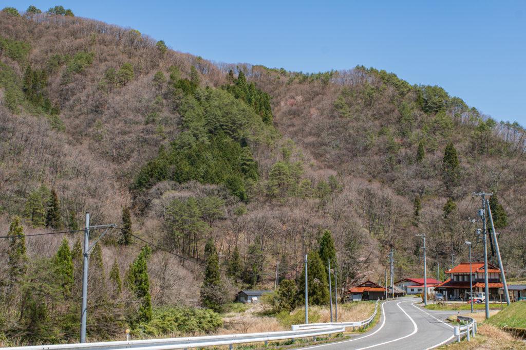 広島観光では紅葉の名所として知られる駄荷地区