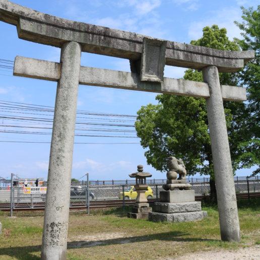 宮島・厳島神社の対岸の地御前神社。必見の観光スポット。