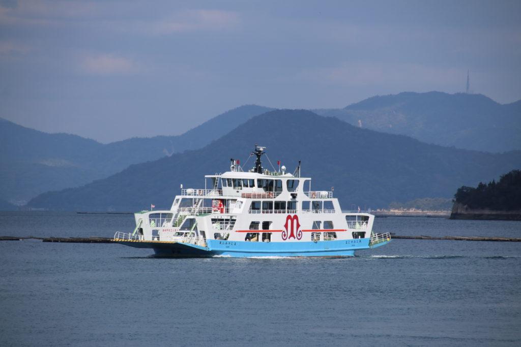 はつかいち1日周遊コースは宮島からフェリーで渡ったあとが楽しみ