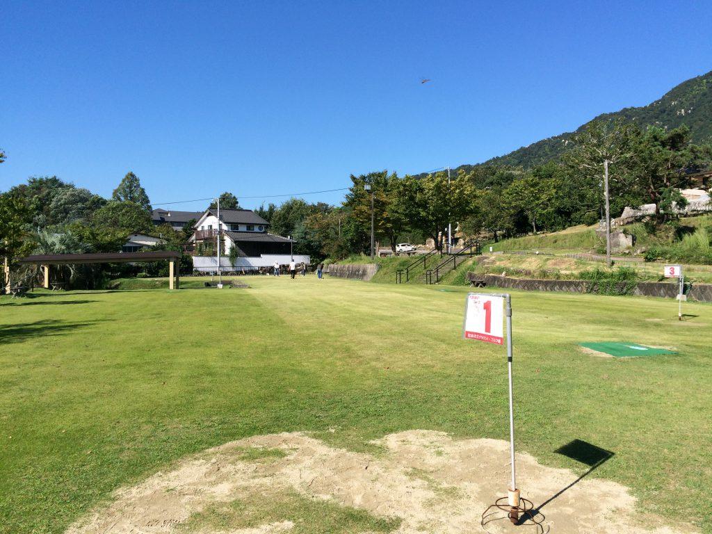 大野瀬戸を望む宮浜グラウンドゴルフ場