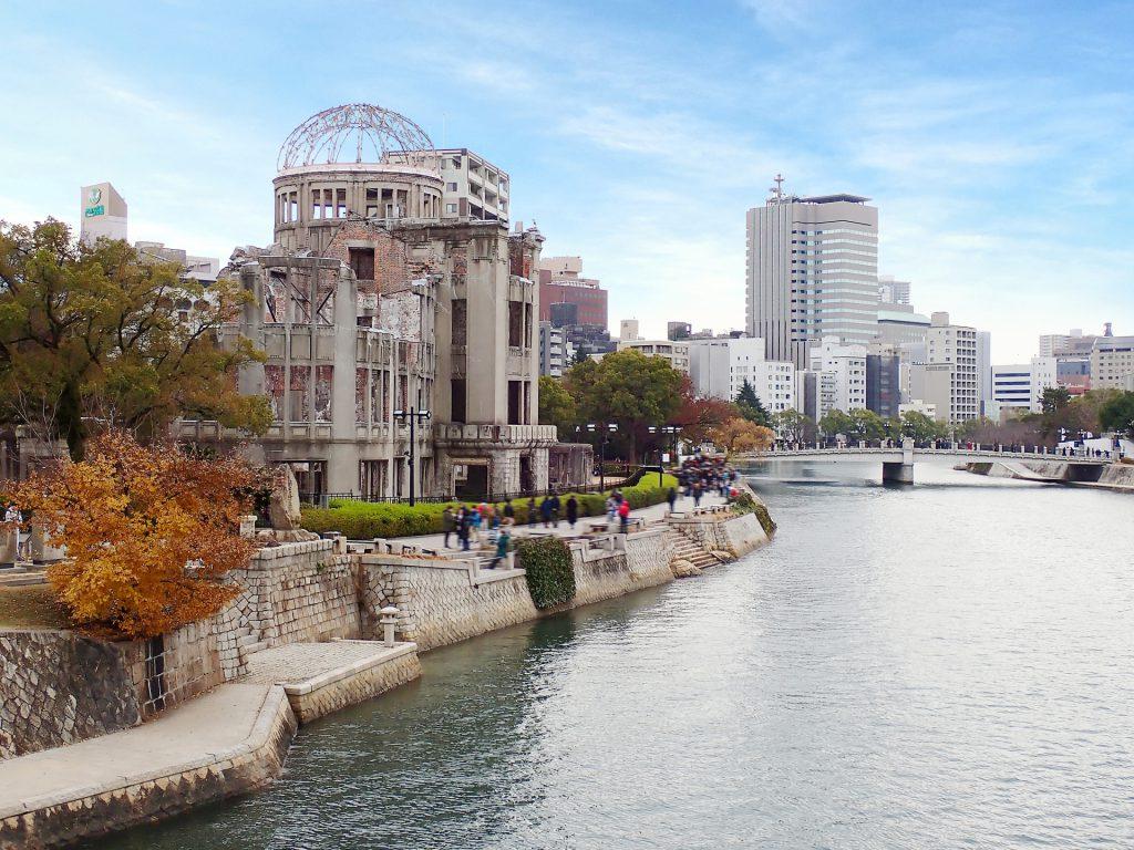 原爆ドームと平和公園は、廿日市・宮島とともに広島観光では必ず訪れたい