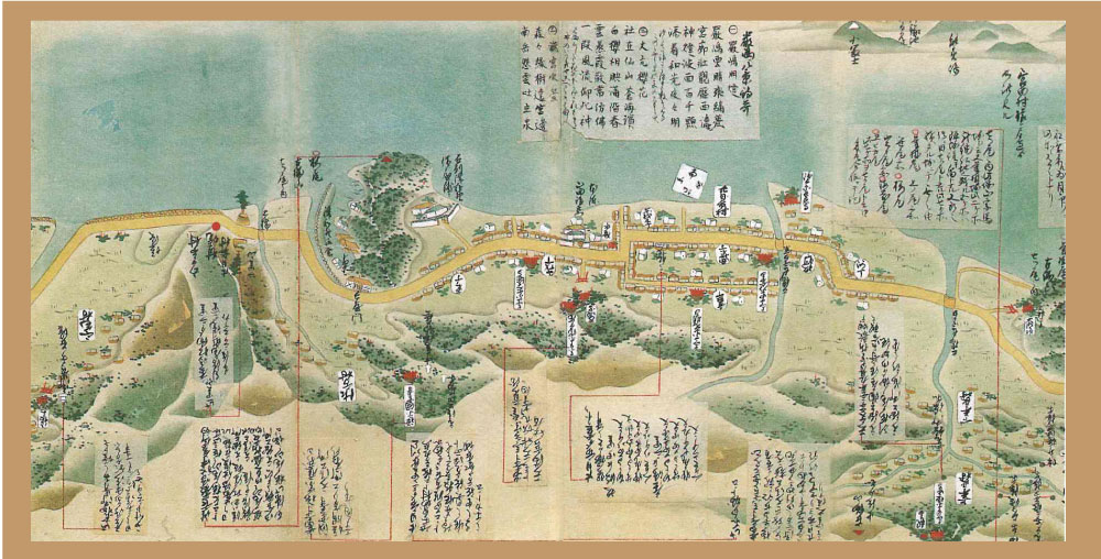 古地図(廿日市ガイド用)