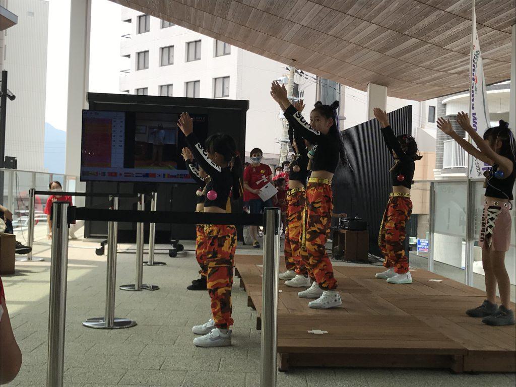 けん玉ワールドカップ廿日市オンライン2020_ダンス